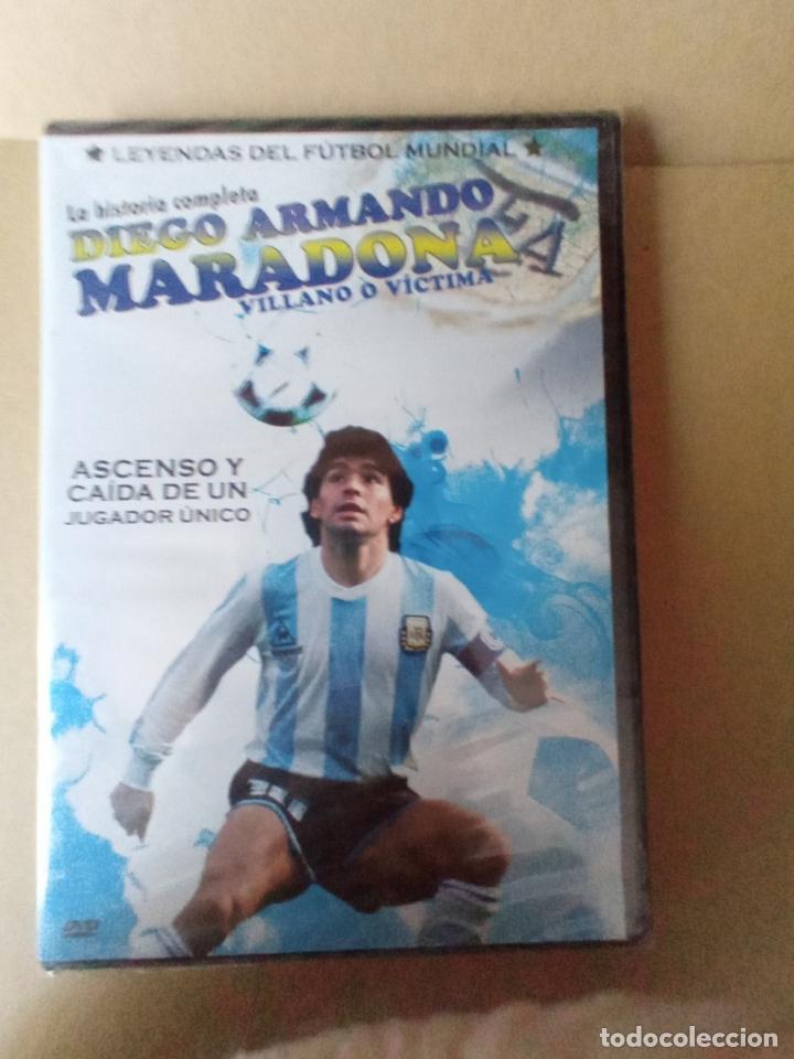 DVD LA HISTORIA COMPLETA DIEGO ARMANDO MARADONA (Coleccionismo Deportivo - Merchandising y Mascotas - Futbol)