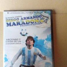 Coleccionismo deportivo: DVD LA HISTORIA COMPLETA DIEGO ARMANDO MARADONA. Lote 256024040