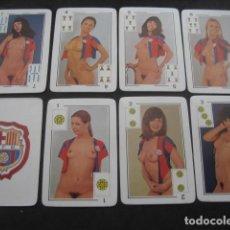 Coleccionismo deportivo: BARAJA EROTICA SEXY Nº52. SEXO, PORNO. FUTBOL CLUB BARCELONA. BARÇA. Lote 257538715