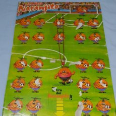 Coleccionismo deportivo: EXPOSITOR COLGANTE NARANJITO MUNDIAL ESPAÑA 82. Lote 261135935