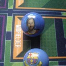 Coleccionismo deportivo: CANICA LEO MESSI FUTBOL CLUB BARCELONA 2021. Lote 261544270