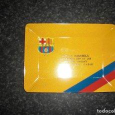 Coleccionismo deportivo: CENICERO PUBLICITARIO FC BARCELONA. Lote 261557490