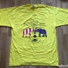 Coleccionismo deportivo: CAMISETA FINAL DE COPA DEL REY, ATHLETIC CLUB BILBAO- FC BARCELONA ,2012, VICENTE CALDERÓN.. Lote 261606525