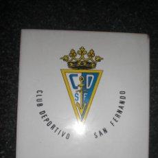Coleccionismo deportivo: AZULEJO CD SAN FERNANDO. Lote 262183265