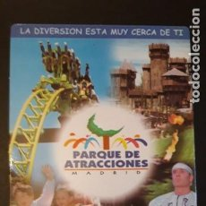Coleccionismo deportivo: . 1 CALENDARIO DE ** PARQUE DE ATRACCIONES MADRID ** . AÑO 2000. Lote 262470115