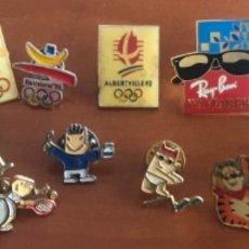 Coleccionismo deportivo: LOTE DE PINS OLIMPIADAS BARCELONA 92 Y OTRAS. Lote 262727500