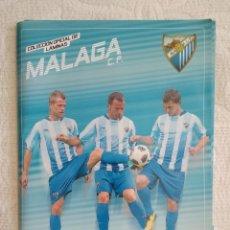 Coleccionismo deportivo: COLECCION OFICIAL DE LAMINAS MALAGA CF LIGA 10 11 2010 2011 DIARIO SUR TIENE 33 DIFERENTES Y 4 REPES. Lote 262805730