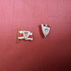 Collezionismo sportivo: LOTE PINS ALFILERES ATLÉTICO DE BILBAO AÑOS 50. Lote 263040135