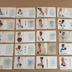 Collectionnisme sportif: 32 CAJAS CERILLAS FUTBOL AÑOS 50. (OVIEDO, ELCHE, BILBAO, OSASUNA, SEVILLA, VALENCIA, VALLADOLID...). Lote 263790150