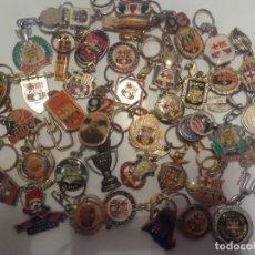 Coleccionismo deportivo: 40 LLAVEROS FUTBOL CLUB BARCELONA. Lote 263959320