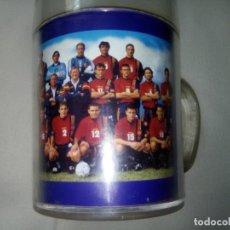 Coleccionismo deportivo: VASO DE PLASTICO OFICIAL SELECCION ESPAÑILA DE FÚTBOL; AÑOS 90. Lote 264780559
