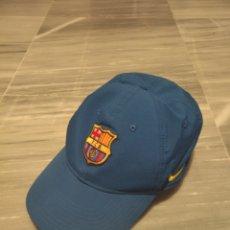 Coleccionismo deportivo: GORRA DEPORTIVA FÚTBOL CLUB BARCELONA NIKE. Lote 265326949