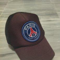 Coleccionismo deportivo: GORRA DEPORTIVA PARIS SAINT GERMAIN. Lote 265328064