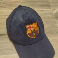 Coleccionismo deportivo: GORRA DEPORTIVA FÚTBOL CLUB BARCELONA. Lote 265328594