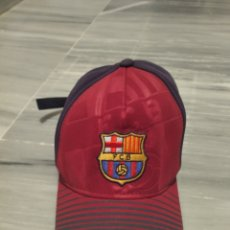Coleccionismo deportivo: GORRA DEPORTIVA FÚTBOL CLUB BARCELONA. Lote 265328974