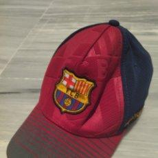 Coleccionismo deportivo: GORRA FÚTBOL CLUB BARCELONA. Lote 265329484