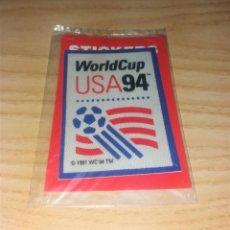 Coleccionismo deportivo: PARCHE DE TELA. LOGO MUNDIAL USA 1994, PRECINTADO. Lote 265770704