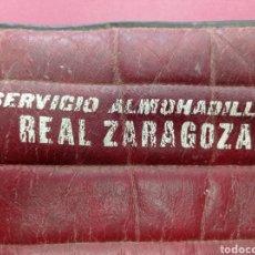Collectionnisme sportif: SERVICIO DE ALMOHADILLAS REAL ZARAGOZA ASIENTOS ROMAREDA. Lote 266854174