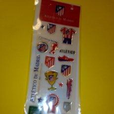 Coleccionismo deportivo: PEGATINAS CON RELIEVE DEL ATLETICO DE MADRID SIN ABRIR. Lote 266974074