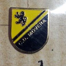 Coleccionismo deportivo: PIN C.D. MOVERA EQUIPO FUTBOL ZARAGOZA. Lote 267502794