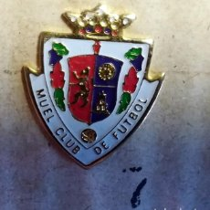 Coleccionismo deportivo: PIN CLUB DE FUTBOL MUEL EQUIPO FUTBOL ZARAGOZA. Lote 267504019