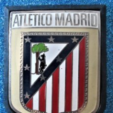Coleccionismo deportivo: ANTIGUA PLACA DE METAL DEL ATLETICO DE MADRID. Lote 269040798