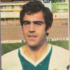 Collezionismo sportivo: ANTIGUA CAJA CERILLAS RADIANT DEL JUGADOR DEL ESPAÑOL CARBONELL DE LOS AÑOS 70 (FUTBOL-FOOTBALL). Lote 269157623
