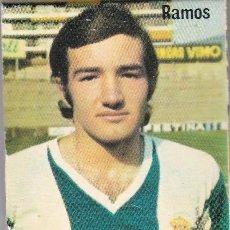 Collezionismo sportivo: ANTIGUA CAJA CERILLAS RADIANT DEL JUGADOR DEL ESPAÑOL RAMOS DE LOS AÑOS 70 (FUTBOL-FOOTBALL). Lote 269157663