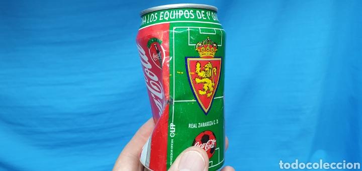 Coleccionismo deportivo: LOTE DE 18 BOTES DE COCA-COLA - EQUIPOS DE 1a DIVISIÓN - LIGA 96 / 97 - Foto 24 - 271038568