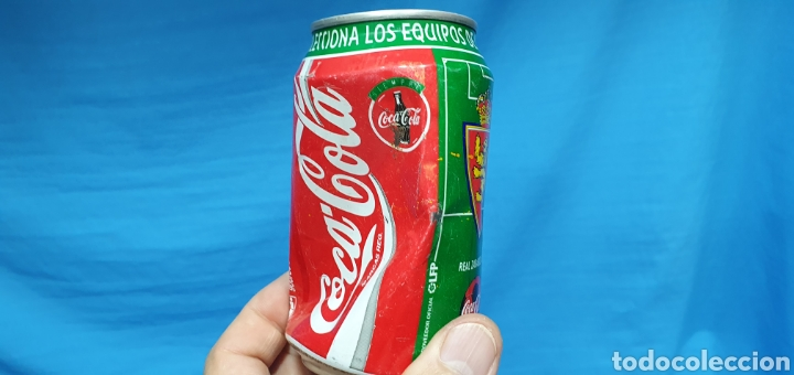 Coleccionismo deportivo: LOTE DE 18 BOTES DE COCA-COLA - EQUIPOS DE 1a DIVISIÓN - LIGA 96 / 97 - Foto 25 - 271038568