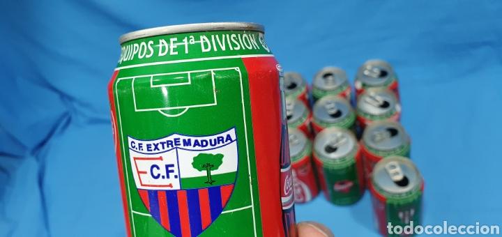 Coleccionismo deportivo: LOTE DE 18 BOTES DE COCA-COLA - EQUIPOS DE 1a DIVISIÓN - LIGA 96 / 97 - Foto 37 - 271038568