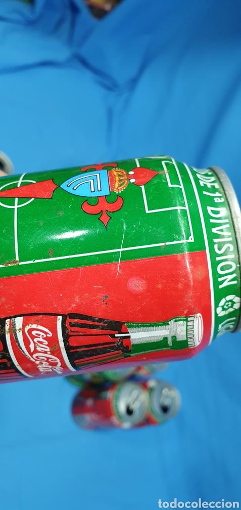 Coleccionismo deportivo: LOTE DE 18 BOTES DE COCA-COLA - EQUIPOS DE 1a DIVISIÓN - LIGA 96 / 97 - Foto 41 - 271038568