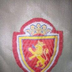 Coleccionismo deportivo: ESCUDO ANTIGUO DEL REAL ZARAGOZA. Lote 271359013