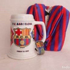Coleccionismo deportivo: COLECCIÓN ANTIGUA DE OBJETOS DECORATIVOS DEL FÚTBOL CLUB BARCELONA. Lote 272980593