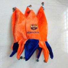 Coleccionismo deportivo: GORRO FUTBOL F.C. BARCELONA. Lote 276593788
