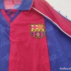 Coleccionismo deportivo: FC BARCELONA. CAMISETA OFICIAL KAPPA. BARÇA.TALLA GRANDE (XL) 1990,S. Lote 276688368