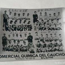 Coleccionismo deportivo: CENICERO ALUMINIO ELCHE CLUB DE FÚTBOL.ORIGINAL NO COPIA. REF.AUTO. Lote 277537008