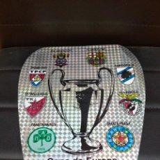 Coleccionismo deportivo: PEGATINA GRANDE COPA DE EUROPA F. C. BARCELONA WEMBLEY 91-92. Lote 282050523