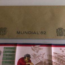 Coleccionismo deportivo: 1982 DEBUT MARADONA OBSEQUIO FC BARCELONA ARGENTINA BÉLGICA. Lote 288312033