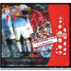 Coleccionismo deportivo: ALFOMBRILLA RATÓN PC CELTA DE VIGO COCACOLA. Lote 289195198