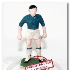 Coleccionismo deportivo: MUÑECO PLÁSTICO PINTADO A MANO CELTA DE VIGO. Lote 289195903