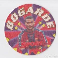 Coleccionismo deportivo: POSAVASOS SPORT F.C.BARCELONA – LIGA 1997-98 – BOGARDE. Lote 290058993