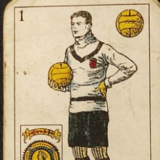 Coleccionismo deportivo: BARAJA / NAIPES - FUTBOL - 48 CARTAS - CHOCOLATES AMATLLER - AÑOS 20 -. Lote 293415008
