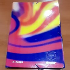 Coleccionismo deportivo: ANTIGUA CARPETA KAPPA F. C . BARCELONA. VER FOTOGRAFÍAS Y DESCRIPCIÓN.. Lote 293826053
