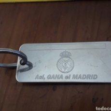 Coleccionismo deportivo: LLAVERO REAL MADRID ASÍ GANA EL MADRID FLORENTINO 2000 LLAVERO. Lote 295701938