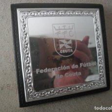 Coleccionismo deportivo: F F C. FEDETACION FUTBOL CEUTA. ANTIGUO ANOTAR COSAS PPAPEL. Lote 296618443