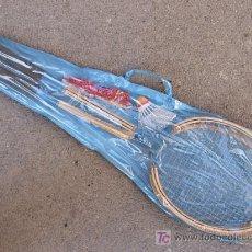 Coleccionismo deportivo: ANTIGUAS RAQUETAS DE BADMINTON. Lote 25480572