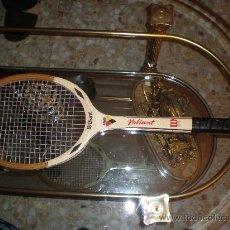 Coleccionismo deportivo: MITICA RAQUETA WILSON JACK KRAMER VALIANT.MADERA.STRATA-BOW+FUNDA WILSON ORIGINAL. Lote 27482515