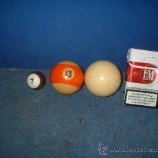 Coleccionismo deportivo: BOLAS DE VILLAR. Lote 27345290