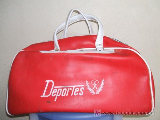 BOLSA DE DEPORTES RETRO. (Coleccionismo Deportivo - Material Deportivo - Otros deportes)